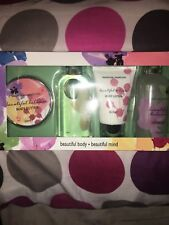 •BRAND NEW/UNOPENED• Beautiful Body*Beautiful Mind 4 Piece Set - Ideal Gift