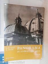 PANORAMA DI STORIA DELL ARTE Vol III Luigi De Simoni e Elena Maccone Bonacci di