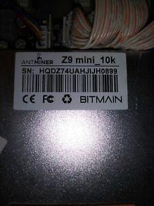 Antminer Z9 Mini 10k W/ Bitmain Switching Power Supply APW3++-12-1600 A3