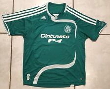 Rare ADIDAS Palmeiras Brazil #10 2007 Soccer Jersey Youth Medium