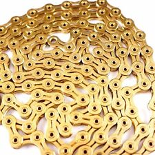KMC X11SL / X11EL GOLD 118Link Chain with Missing LINK - Retailer AM Package