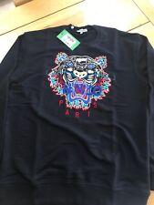 Kenzo Sweatshirt Tiger Logo Size XL Black