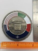 Italian / U.S.A. - military - Medallion - Presented by the Commander