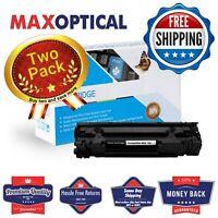 Max Optical 2Pack Canon 128 Compatible Toner Cartridge- Black