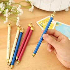 10pcs/lot Crown Colored Mechanical Pencil Auto Lead Pencils Kids Stationery