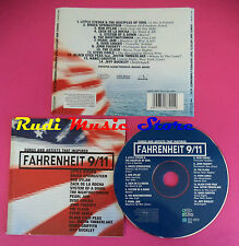 CD Songs And Artists That Inspired Fahrenheit 9/11 compilation no mc dvd vhs(C36