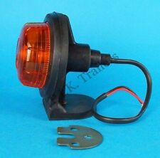 Britax Amber Side Rubber Body Marker Lamp for Trailers Horse Box Ifor Williams