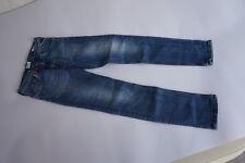 REPLAY slim Kinder Hose stretch Jeans Gr.10 A dehnbar used stonewashed blau =21
