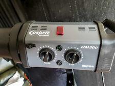 Bowens Esprit Gemini GM500 flash head with TUBE.