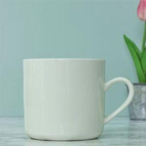 16oz Large Minimalist White Coffee Mug Porcelain Tea Cup Hot Latte Cappuccino