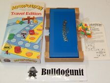 1987 Aggravation Travel Edition Board Game Complete in Box Coleco Games