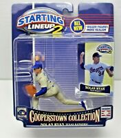 STARTING LINEUP 2 - 2001 COOPERSTOWN COLLECTION NOLAN RYAN TEXAS RANGERS - VGC
