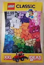 LEGO CLASSIC XXL 1500 PIECES. IDEAS BOOK INCLUDED. RETIRED SET. NEW. 10697