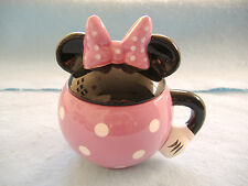 DISNEY'S MINNIE MOUSE PORCELAIN SUGAR BOWL WITH LID