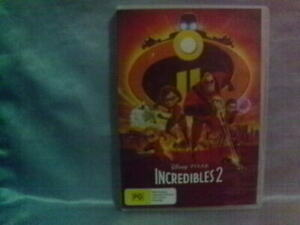 Incredibles 2 DVD  Disney Pixar Region 4