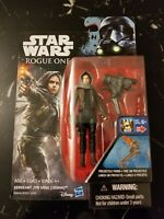 "Star Wars: Rogue One - 3.75"" Figure - Sergeant Jyn Erso (Jedha) - Sealed"