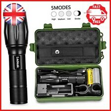 Ledeak T6 Upgrade L2 CREE,1200 Lumens LED Torch,5 Modes Zoomable Waterproof