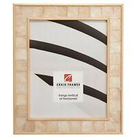 "Craig Frames Opulence, 1.625"" Gold Mother of Pearl Picture Frame Poster Frame"