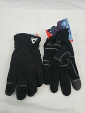 West Chester Unisex Black Polyester Insulated Gloves-96156Bk-xl- Lot Of 2