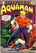 """Aquaman #31 1967 Fn- """"O.G.R.E. Strikes Back"""" Mera"""