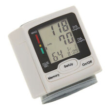 LCD Health Cares Arm Meter Pulse Wrist Blood Pressure Monitor Sphygmomanometer