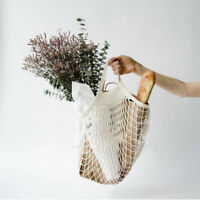 Shopping Pro String Grocery Bag Shopper Cotton Mesh Net Woven Mesh Reusable