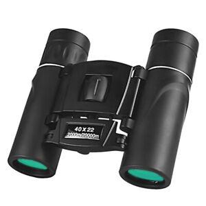 40x22 HD Powerful Binoculars 2000M Long Range Folding Mini Telescope OptiRI