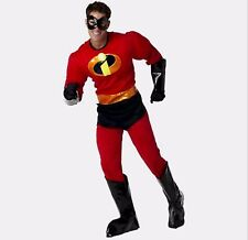 Disney Exclusive Incredibles Deluxe Mr Incredible Mens Size Medium Costume New M