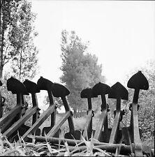 GERSTHEIM c. 1950 - Dragueuse  Encres  Bas Rhin - Négatif 6 x 6 - N6 GE7