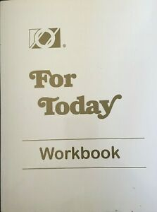 For Today Workbook , Overeaters Anonymous - Paperback - Like New