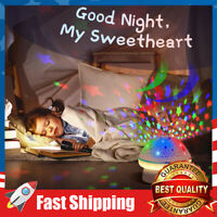 Star Projector Night Light with Remote Control & Timer for Age 2+ Baby Kids Girl