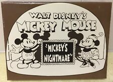 DISNEY ANIMATED SHORTS MICKEYS NIGHTMARE 7 PIN LE SET #13 NEW N BOX MICKEY MOUSE