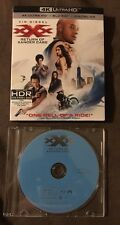 xXx: Return of Xander Cage Blu Ray Disc ONLY In Jewel Case With Slipcover