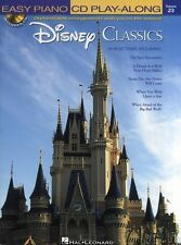 Easy Piano CD Play-Along Disney Classics Learn to Play Music Book