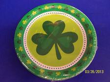 "St. Paddy's Pot of Gold Patrick's Day Irish Shamrocks Party 7"" Dessert Plates"