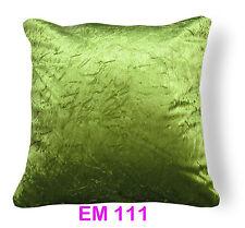Mn Shimmer Crushed Plain Velvet Style Cushion Cover/Pillow Case Custom Size