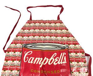 Vintage 1983 Warhol x Campbell Soup Company PVC Apron