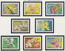 VIETNAM N°191/198** Fleurs Orchidées 1979, Vietnam #1017-1024 Flowers Orchids NH