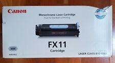 New Sealed Genuine Canon FX11 Black Toner Cartridge 1153B001 LaserClass 810 830i