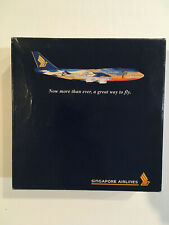 Dragon Wings 1/400 Singapore Airlines Boeing 747-412 Tropical 9V-SPK 55106 Rare