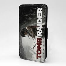 For Apple iPod Touch Flip Case Cover Tomb Raider - T2296