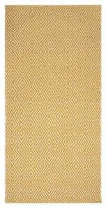 Hand Woven Cotton Soft Living Dining Bed Room Rug Carpet 70 x 145 Cm