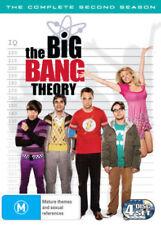 THE BIG BANG THEORY (COMPLETE SEASON 2 DVD SET - SEALED + FREE POST)