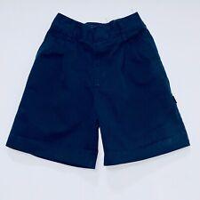 Dennis 4060 Navy Blue Pleated School Uniform Shorts, 6