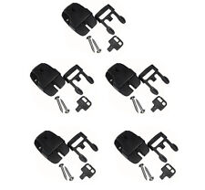 5 Spa Hot Tub Cover Broken Latch Repair Kit Clip Lock with key and hardware