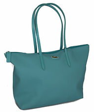 Borsa donna LACOSTE large shopping bag art.NF1344PO 48x30x14 colore 098 ACQUA