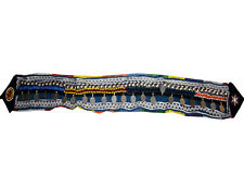 Kuchi Belly Dance Belt Tribal Boho Colorful Ethnic Fabric Coins Shells