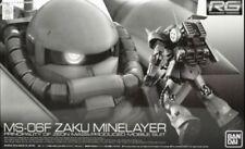 Premium Bandai Gundam P-BANDAI MS-06F Zaku Minelayer RG 1/144 Model Kit USA NEW