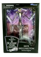 NEW DISNEY NIGHTMARE BEFORE CHRISTMAS JACK SKELLINGTON ACTION FIGURE 25 YR ANN.
