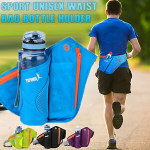 Running Cycling Sport Unisex Water Bottle Travel Holder Belt Bag Waist Pouch